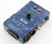 SoundLAB CT02 CABLE TESTER - XLR, JACK, SPEAKON, PHONO, DIN & BANANA